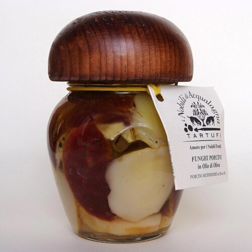 Funghi Porcini in olio di oliva