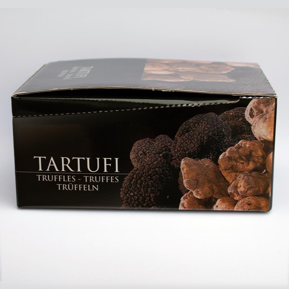 scatola degustazione tartufi - laterale