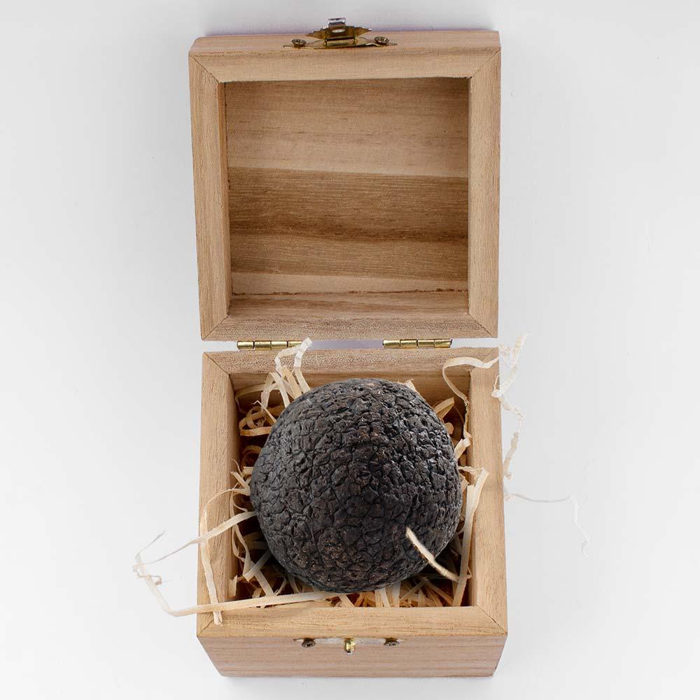 tartufo nero pregiato con scatolina in legno