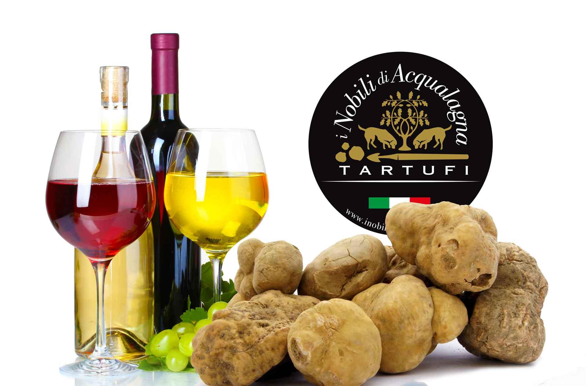 tartufo bianco e vino